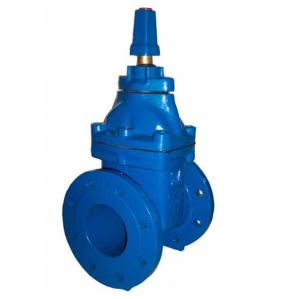 China Standard Top Cap Gate Valve Face To Face Non Rising Stem Gate Valve on sale