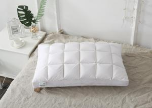 China 74cm 240G Duck And Goose Feather Pillows Cotton Home Textiles on sale