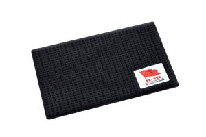 China Logo Printing Dashboard Sticky Pad Temperature Resistant For Mobile Phones supplier