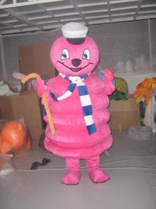Quality custom design plush cartoon characters mascot costumes for theme parks for sale