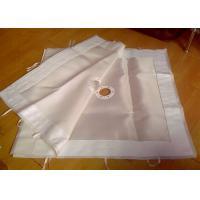 China Liquid filtration Filter Press Plates Micron Non Woven Glass Fiber Cloth on sale