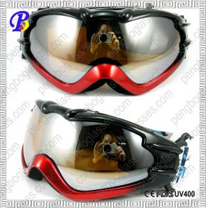 China Adjustable Straps Anti Fog Dual Lens Bicolor Frame UV400 Protection Basic Custom Ski Goggles on sale