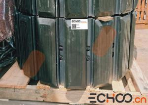 China OEM Size Cat Excavator Tracks / Stainless Steel Tracks For Mini Excavator on sale