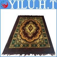 China household velour jacquard pattern PVC carpet rose flooring on sale