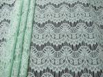 Nice Scalloped Trimming Cotton Nylon Lace Fabric Rayon For Wedding Dress SYD-0011