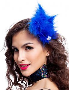 China Polyester Dance Costumes Accessories Colored Fabulous Feather Headpiece on sale