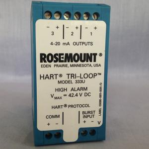China Rosemount 333 HART Tri-Loop Signal Converter price from China vendor on sale