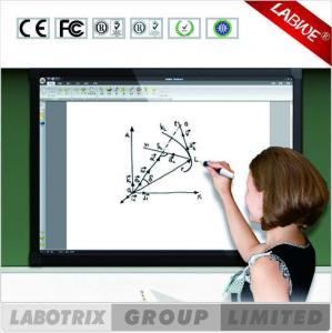 China tacto interactivo elegante del finger de Digitaces Whiteboard del tacto multi de 54inch IR para la escuela on sale