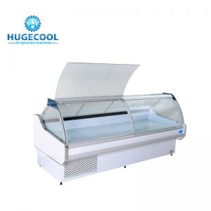 China Air Cooling Deli Display Cabinets , Commercial Deli Case For Meat And Fish on sale