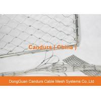 China Malha de aço inoxidável flexível da luva do cabo de fio para o cerco da associação on sale