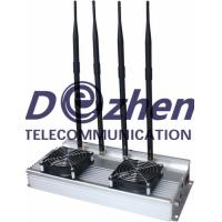 China High Power (45W) indoor Cell phone Jammer +Omni Directional Antennas on sale