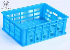 China Heavy Duty Euro Stacking Containers  Bakery / Beverage Transport With Customized Color on sale