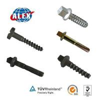 Rail Screw Spike M24*160 Skl14 Railway Fasteners System