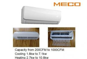 China Super Slim Wall Air Conditioning Units , 600CFM Water Cooled Fan Coil Unit on sale