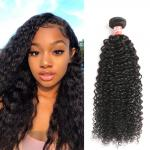 Bundles With Lace Frontal 100 Virgin Brazilian Curly Hair Full And Soft