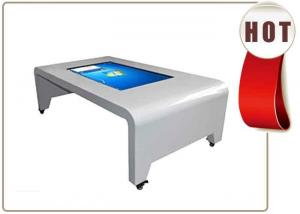China Table touch screen kiosk 42 inch all-in-one with IR touch on sale