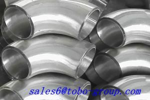 China 5 Inch Sch40 SS BW Short Radius Elbow Polished Stainless Steel 310H UNS S31009 Fitting on sale