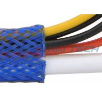 Abrasion Resistance Flame Retardant Cable Sleeve Custom Logo For Wire Management