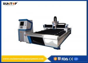 China Advertising Industry Metal  CNC Laser Cutting Machine With Power 500W on sale