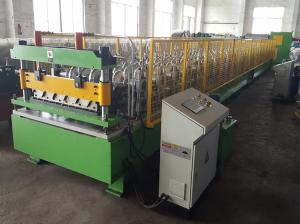 China Deep Corrugated Profile Metal Roofing Sheets Roll Forming Machine on sale