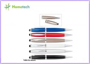 China 1GB 2GB White / Blue / Red /  Black Pen Usb Promotion School Office on sale