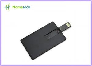 China Black Credit Card USB Sticks Gift 4GB 8GB 16GB USB Key Custom Logo on sale