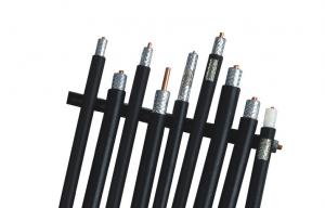 China RF Signal Coaxial Cable Low Loss 500 Tinned Copper Braided 50 Ohm for Mobile Antenna on sale