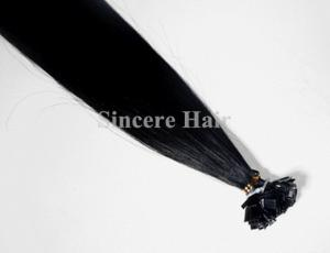 China Hot Selling 20 Inch Remy Hair Extensions Pre-Bonded Flat Hair Extensions 0.75 G for Sale on sale