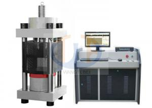 China 2000KN Stable Compression Testing Machine For Concrete Computer Control on sale