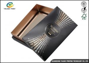 China Black Customizable Wine Gift Packaging Cardboard Paper Drawer Box on sale