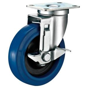 China Side Brake Industrial Cart Wheels, High Loading Capacity Industrial Looking Casters on sale