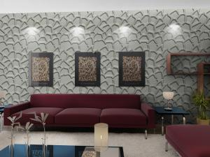 Fashion Wall Art 3d Living Room Wallpaper Modern 3d Wall Panel For