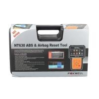 China Pro ABS Airbag Reset Tool  Foxwell NT630 AutoMaster Black Color on sale