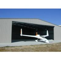 China Custom Fabric Steel Structure Hangar , Lightweight Steel Aircraft Hangar Buildings on sale