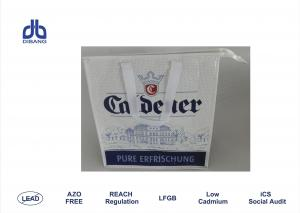 China Laminated Non Woven Polypropylene Bags , Customized Insulated Lunch Bags For Women on sale