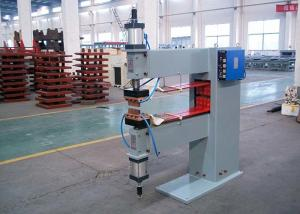 China Double Cylinders Rowing Projection Spot Welding Machine Automatic Wire Mesh 1000mm Arm on sale