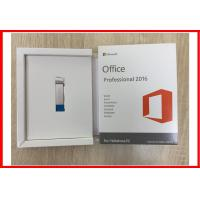 China Original Microsoft Office Professional 2016 Retail Box Usb Activation Online on sale