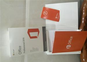 China microsoft office 2016 product key full version PC / Mac Key Card online activation on sale