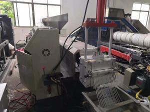 China 150MM Screw Pet Bottle Flakes Machine / Pet Flakes Making Machine 90kw on sale