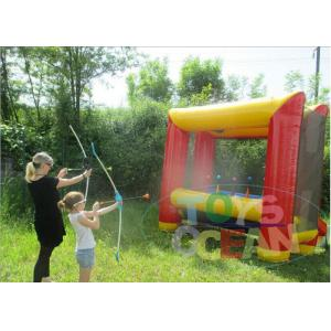 China Fun Outdoor Inflatable Sport Game Bouncy Security For Archery Shooting on sale