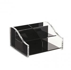 China acrylic pen holder , manufaturer direct sale PMMA pen box , new style perspex pen box on sale