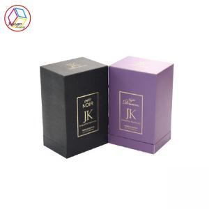 China Boutique Perfume Packaging Boxes , Luxury Perfume Box Golden Board on sale