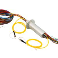 Electrical / Fiber Optical Slip Ring Solutions 240 VDC With 50Hz Frequency