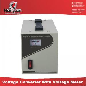 China Voltage converter/Transformer with Voltage Display on sale