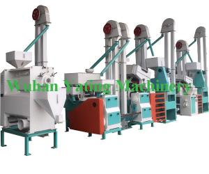 China Full Automatic Rice Mill Plant Fine Brown Rice Manufacturing Plant 25 Tons Per Day on sale