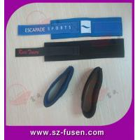 Customized Soft Cable Management Straps ROHS & SGS For Wrist Band / Arm Band