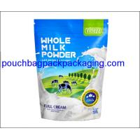 China Stand up pouch, Aluminum stand up pack bag, doypack for milk powder 500g on sale