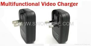 China Video Charger Hidden Camera with Built in 4GB Memory on sale