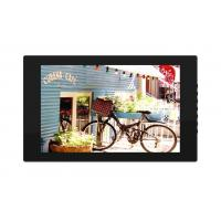Metal Wall Mount Tablet PC LCD Screen 17 Inch Food Menu Order Board For Restaurants