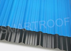 China Coastal House Roof ASA Plastic Sheet With Fine Toughness , PVC Roofing Panels on sale